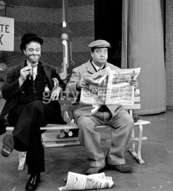 Red Skelton as Freddie the Freeloader with Jackie Gleason