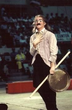 Dougie Ashton 2014 Clown Hall of Fame Inductee