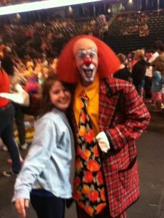 "Ron ""Toto"" Johnson at the Ringling Brothers circus in Bettendorf, Iowa 2012"