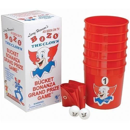 Bozo the Clown - Bucket Grand Prize Game