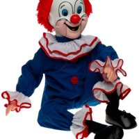 Bozo the Clown ventriloquist doll