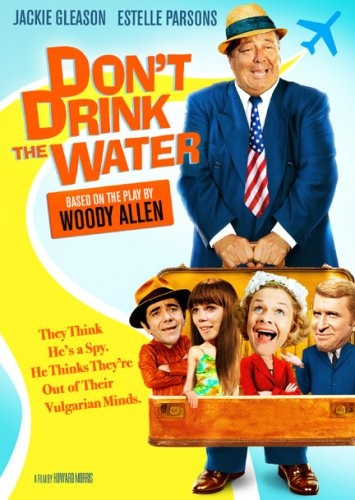Don't Drink the Water (1969) starring Jackie Gleason, Estelle Parsons, Ted Bessell