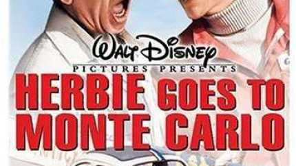 Herbie goes to Monte Carlo, starring Dean Jones and Don Knotts
