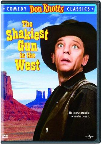 The Shakiest Gun in the West (1968) starring Don Knotts, Barbara Rhoades