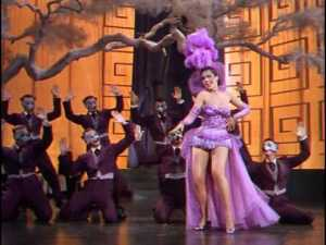 "Ann Miller as Bubbles, performing ""I'll Be Hard to Handle"""