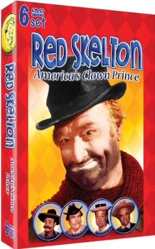 Red Skelton €- America's Clown Prince -6 DVD Set