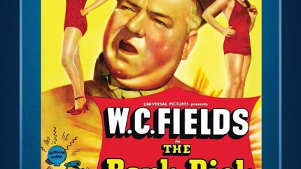 The Bank Dick (1940) starring W. C. Fields, Una Merkel, Franklin Pangborn, Shemp Howard