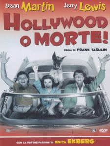 Hollywood or Bust, starring Dean Martin, Jerry Lewis, Pat Crowley, Anita Ekberg