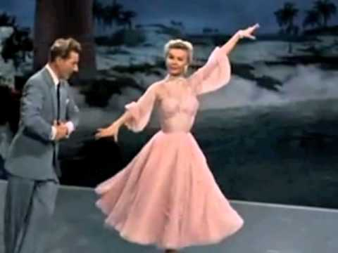 The best things happen while you're dancing - sung and danced byDanny Kaye and Vera-Ellen inWhite Christmas, words and music by Irving Berlin