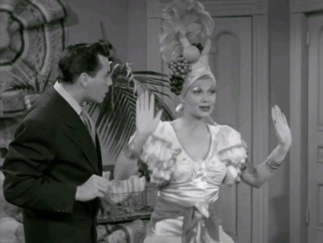 Be a Pal - Lucy imitates Carmen Miranda