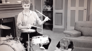 Little Ricky Gets Stage Fright - Lucy tries to get Little Ricky interested in playing the drums again