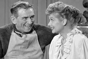 Lucy Plays Cupid - Edward Everett Horton and Lucille Ball