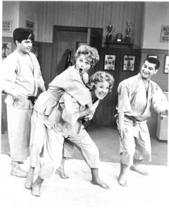 The Lucy Show - karate class