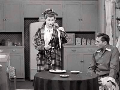 The Matchmaker - Lucy 'cooks' Ricky's bacon over a lit match