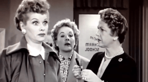 I Love Lucy - The Charm School - Lucy and Ethel with Natalie Schaefer