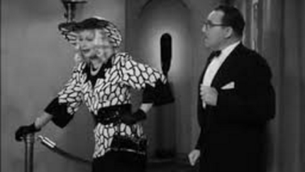 Lucy in disguise at the Tropicana, scamming Gale Gordon