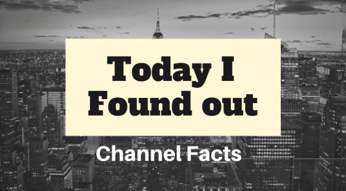 Today I Found Out Channel Facts