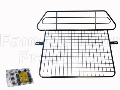 Dog Guard with Rear Seat Protector (FF002800) for Land