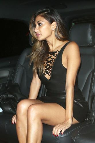 New Car Wallpaper Bloggers Nicole Scherzinger Leather Mini Skirt Famous Leather