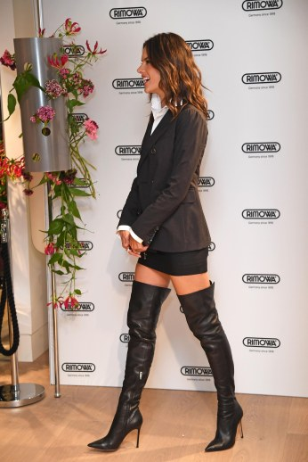 Alessandra Ambrosio - High Boots
