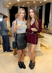 Audrina Patridge - Leather Mini Skirt