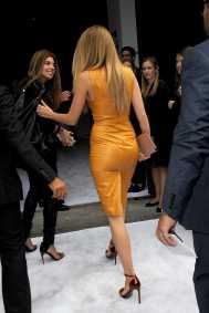 Blake Lively - Leather Mini Dress
