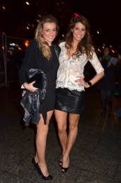 Laury Thilleman - Leather Mini Skirt