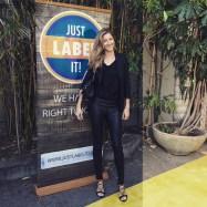 Gisele Bündchen - Leather Pants