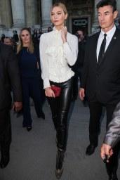 Karlie Kloss - Leather Pants