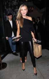 Joanna Krupa - Leather Tight Pants
