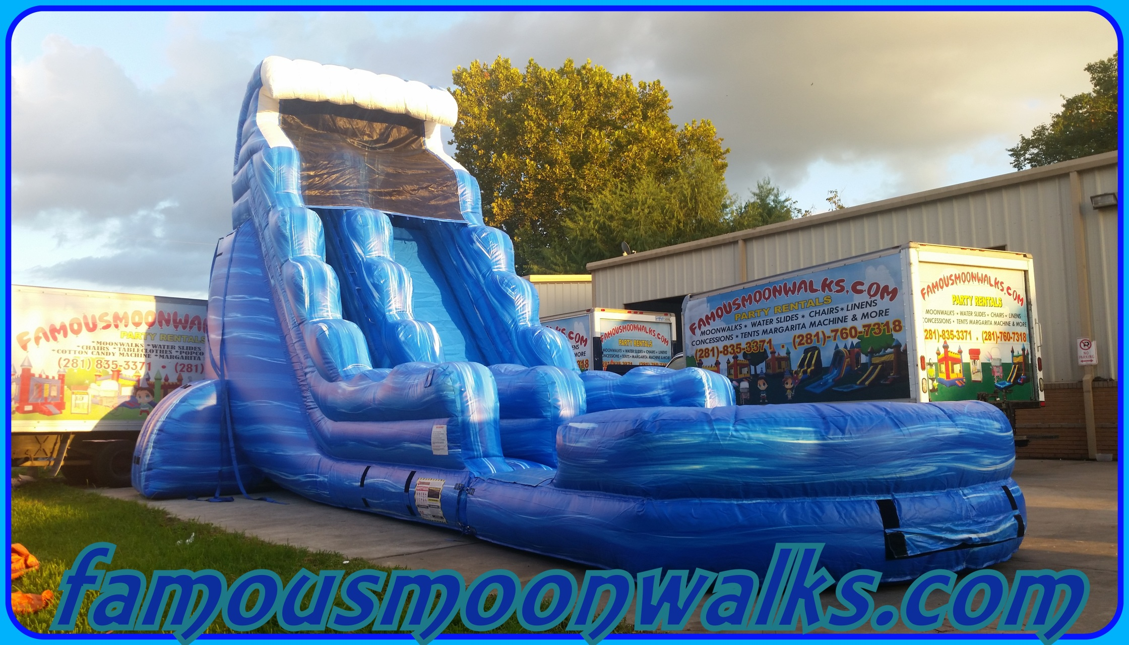 Table And Chair Rentals Houston Water Slide Rentals Houston Water Slide Package Deals