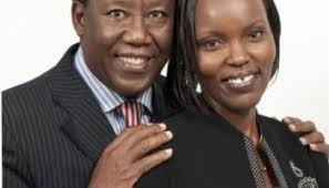 Bishop Mark Kariuki & wife