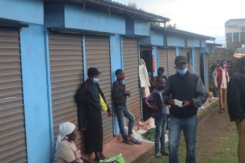 Mawanga traders get new-look market