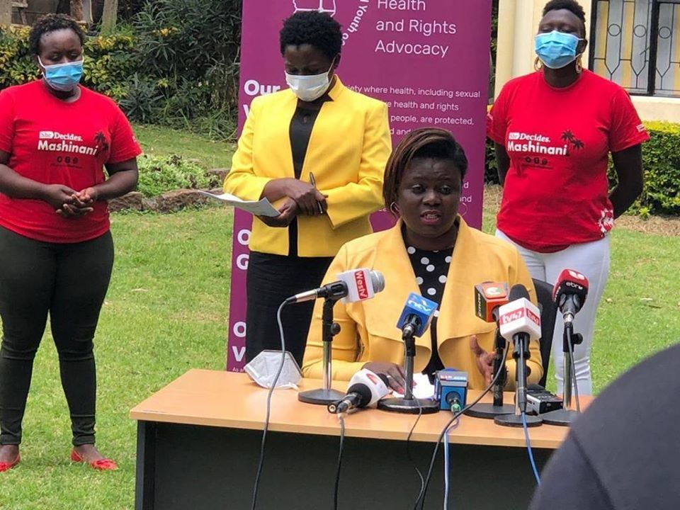 25 CSOs tell off those opposed to Kihika's Reproductive healthcare Bill