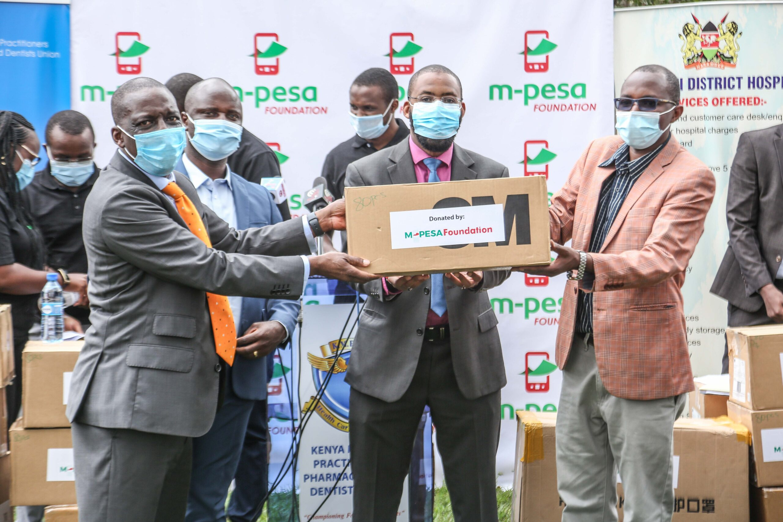 M-PESA partners with KMPDU to distribute PPEs to 7 counties