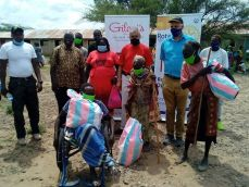 Nakuru Rotarians donate food to vulnerable groups in Chemolingot,Baringo