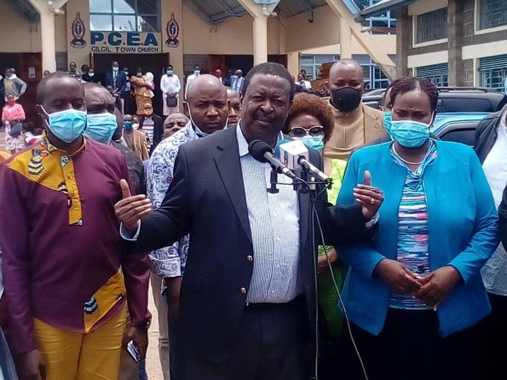 Keep off 'political hypocrites', Mudavadi tells Kenyans