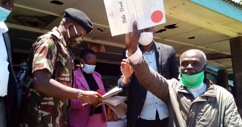 Akuisi Land Company Ltd members' cry to RC Natembeya