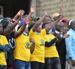 UDA supporters, Nakuru