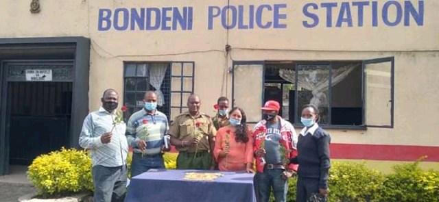 Bondeni Police station