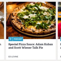 Listen to me blab about pizza on the Serious Eats 'Special Sauce' podcast