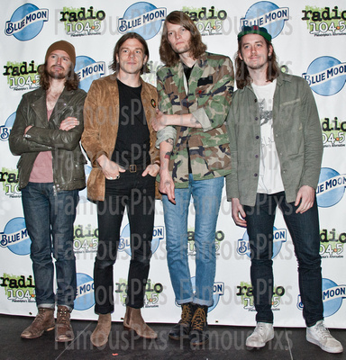 FamousPix: 05/13/2016 - Cage The Elephant Visit Silk City Lounge &emdash; Cage The Elephant