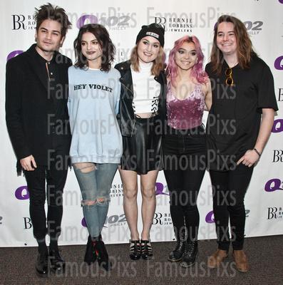 FamousPix: 03/23/2017 - Hey Violet Visit Q102 &emdash; Hey Violet
