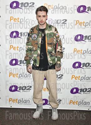 FamousPix: 06/27/2017 - Liam Payne Visits Q102 &emdash; Liam Payne