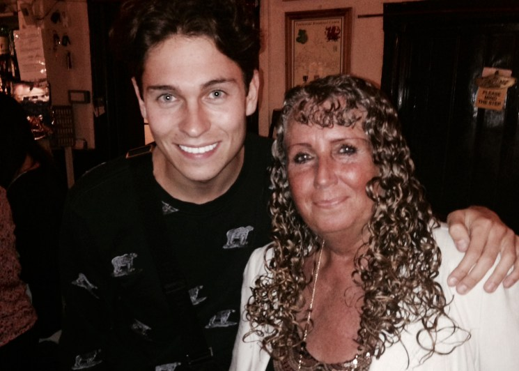 After filming `Educating Joey Essex` at the famous haunted Skirrid Inn in Wales