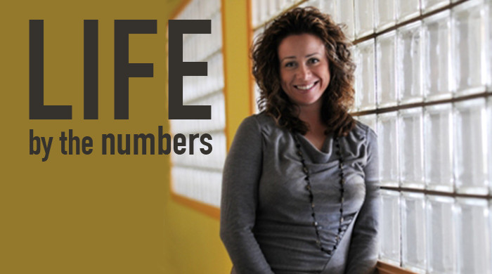 life by the numbers banner