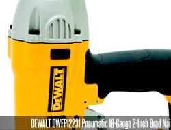 Best electric finishing nail gun