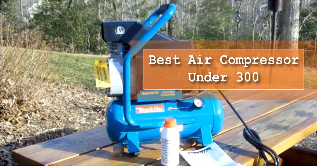 Showing air compressor under 300