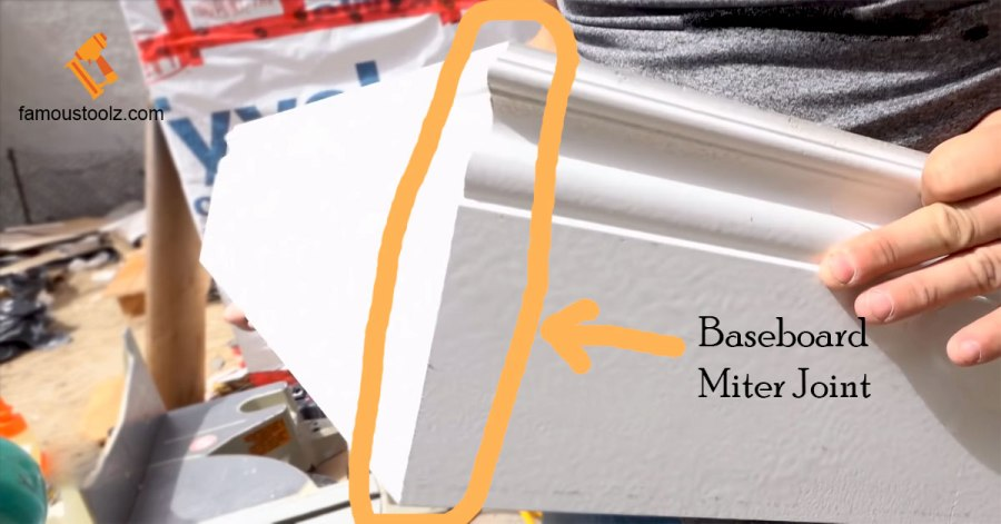Baseboard Miter Joint