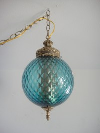 swag lamp | Vintage decor treasures